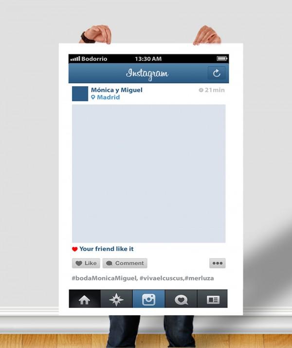 Instagram photocalls - Como hacer un photocall cumpleanos ...
