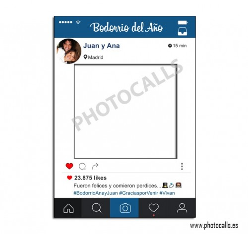 marco instagram personalizable 100 para ti ForMarco 100x70