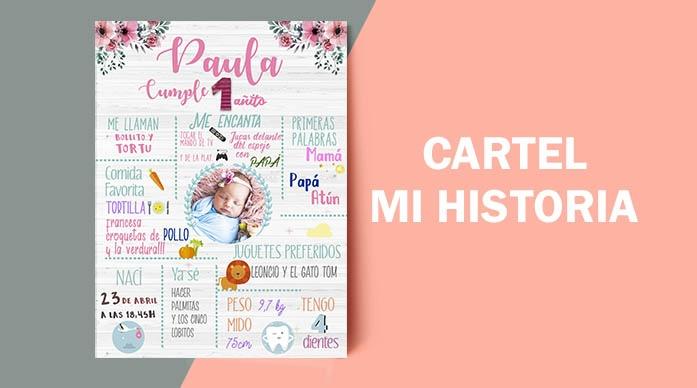 CARTEL MI HISTORIA