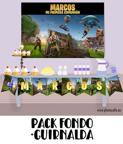 FONDO MESA DULCE MAS GUIRNALDA COMUNION