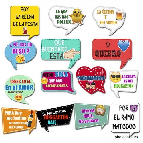 Bocadillos Emoticonos Archivos Photocalls Y Atrezzo