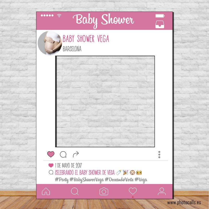 Marco Baby Shower Diseño 1, Personalizable 100% para ti